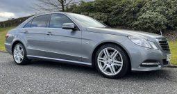 2011  Mercedes- Benz  E350 Avantegarde CDI Blue-Efficiency