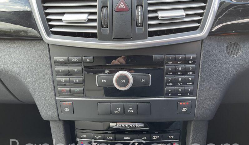2011  Mercedes- Benz  E350 Avantegarde CDI Blue-Efficiency full